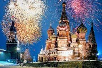 New Year 2020 in Moscow